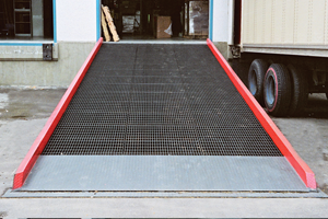 Stationary Steel Ramp
